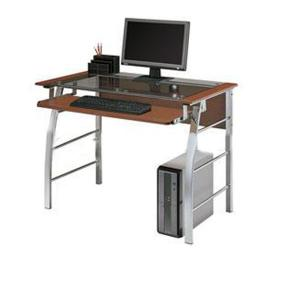 Contracted Modern Glass Computer Desk