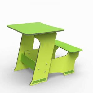 Hot-Sale Children Study Table Furniture Green