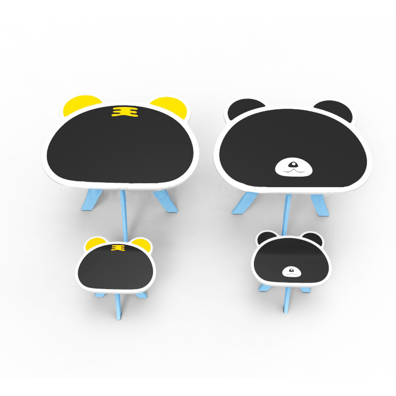 2014 Hot Sale Children Cat Furniture Table And Chair