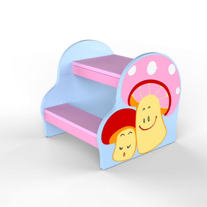 Children Double-Deck Mushroom Chair
