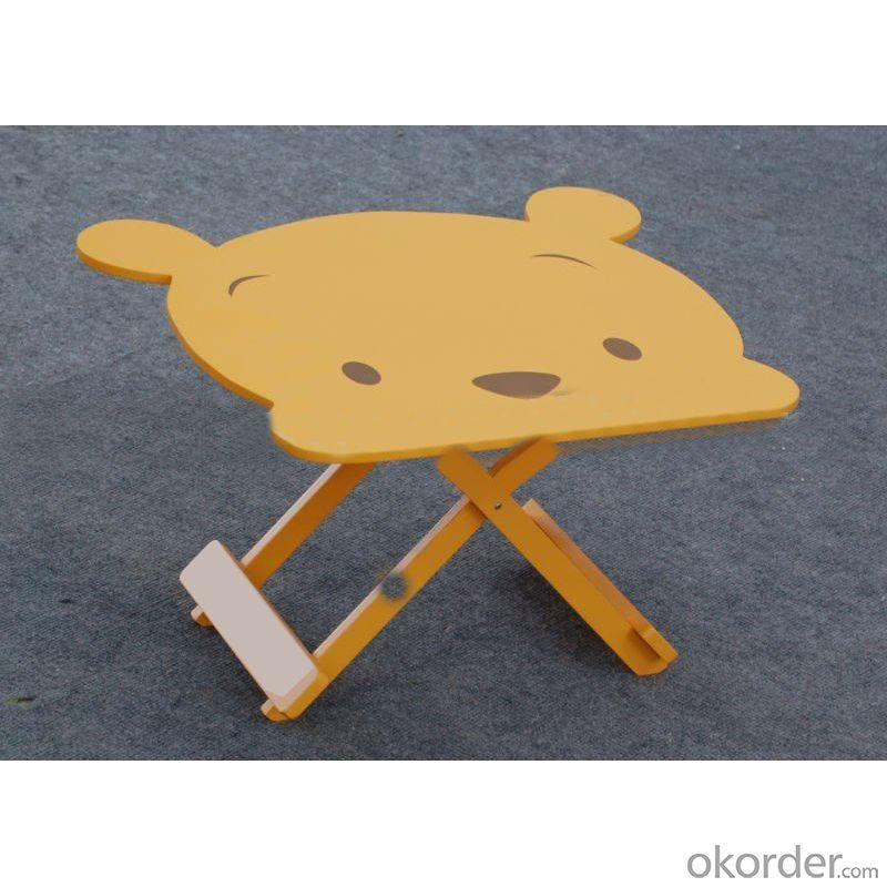 2014 Hot Sell Cartoon For Winnie The Pooh Wooden Children Table And Chair Children Furniture