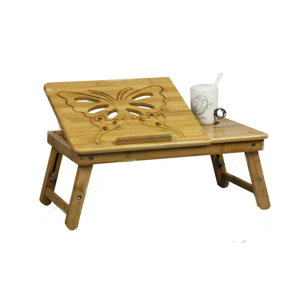 Bamboo Foldable Laptop Computer Table