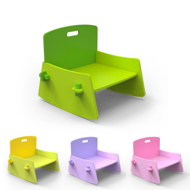 Hot Sale Chairs With Back Green