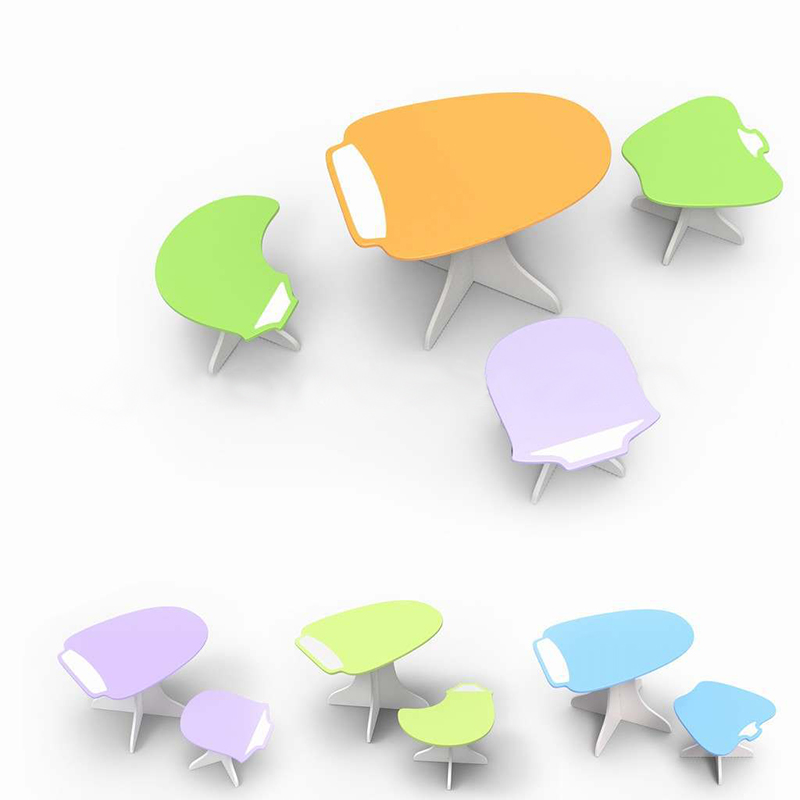 2014 Popular Fashionable Mdf Kids Study Tables With Chairs