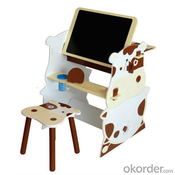 2014 Hot Sale Cartoon Cowabunga Children Study Desk Foldable Folding Drawing Table