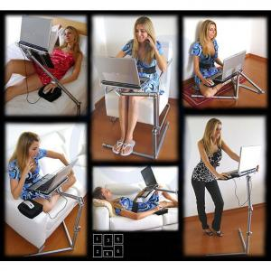 Fashion Design Folding Laptop Desk For Standing