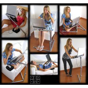 Fashion Design Folding Laptop Desk For Standing