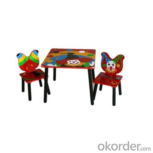 Red Bear High Quality Mr Hotter Wooden Children Study Table With Table