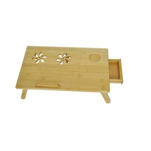 Bamboo Foldable Laptop Table For Computer