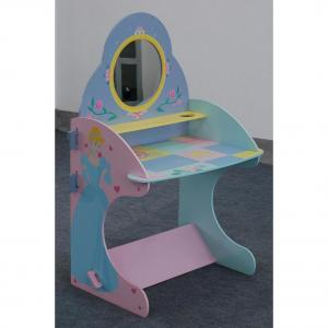 Wooden Cartoon Bear Table And Chair For Children