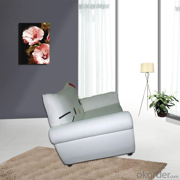 Beautiful Kids' Sofa with PU Leather Two Seats Cartoon Pattern