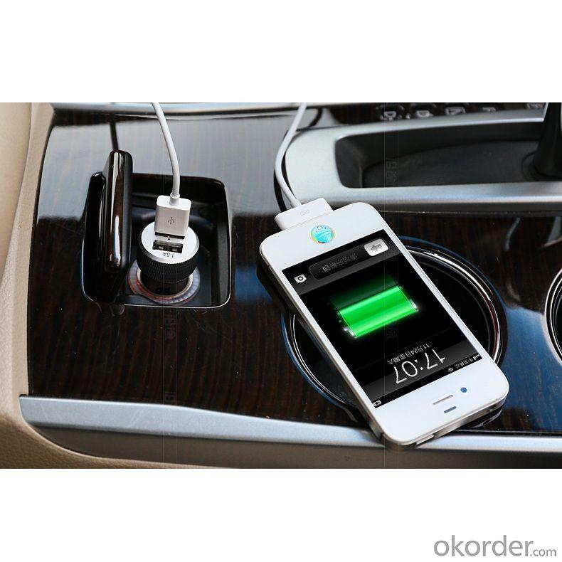China Manufacture Hot Sale Dual 2 Port Universal 5V USB Car Charger For iPhone 5 5s iPad 2 3 4 5 iPod eGo e Cigarette Golden