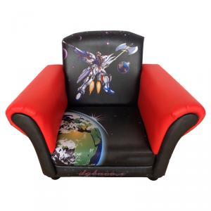Modern Single Sofa for Children Wood Frame High-elastic Foam