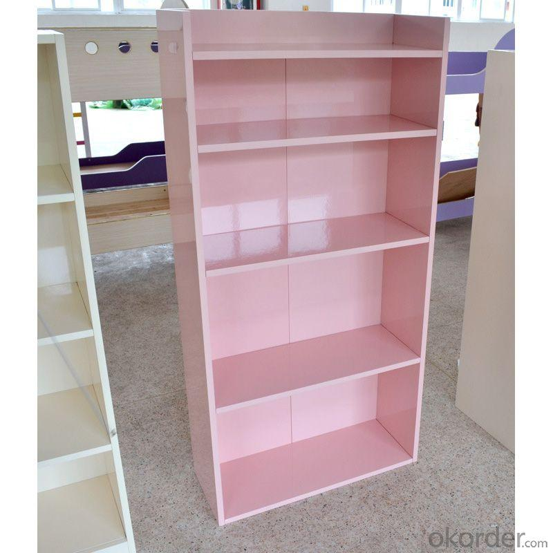 Fashion Children's Bookshelf Stable Structure Eco-friendly Material