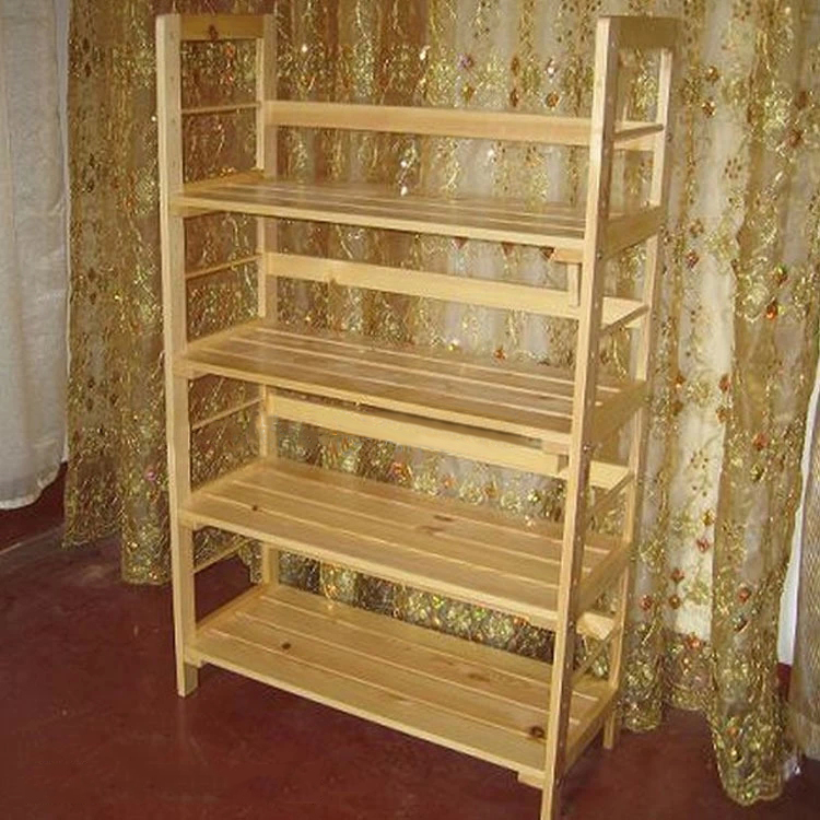 Kids' Wooden Bookshelf Customized Pattern and Size Easy Installing