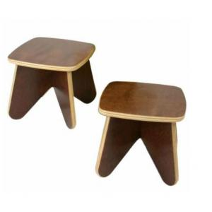 Kids' Wooden Stool for Preschool with Fashion Design and Quality Material
