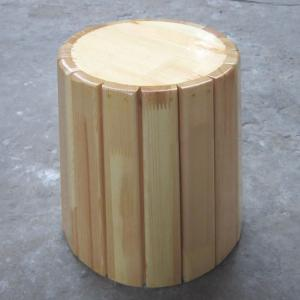 Wooden Stake Children's Chair with Cylindrical Shape High Quality