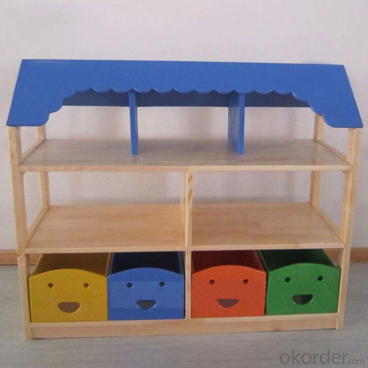 Colorful Kids' Cabinet for Toy Storage with Drawer Creative Design
