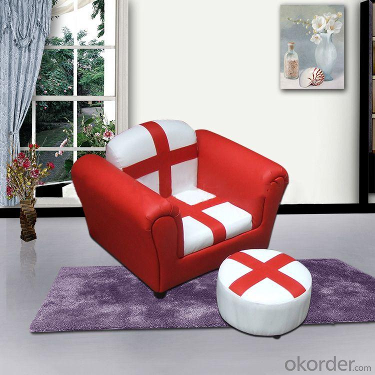 Fabric Single Sofa for Children Customized Pattern and Size