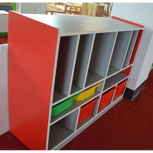 Children's Cabinet with 12 Grids Non-toxic Colorful Painting
