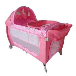 Pi Series Baby Playpen With Cross Toy Bar