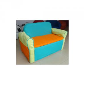 Children's Cotton Sofa with Two Seats Used for Home and Outdoors