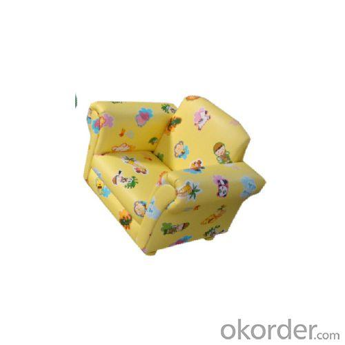 Small Fabric Sofa for Children Flower Pattern Customized Color