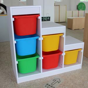 Ladder Style Children's Cabinet with 3 Levels Creative Design
