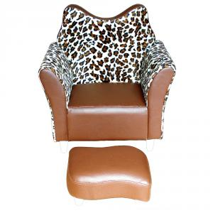 Creative Elegant Leather Sofa Fox Style Environmental Material