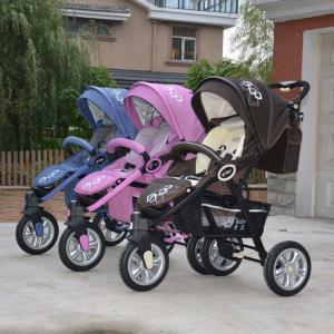 2014 Three Air Wheels Aluminum Baby Joggyer C368 Brown