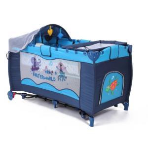 En71 Folding Baby Playpens Blue