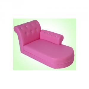 Two Seats PU Leather Sofa for Children's Living Room Comfortable