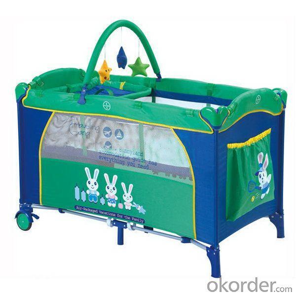 En71 Folding Handiness Baby Playpens Green