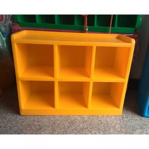 PP Plastic Kids' Cabinet Storage Bright Color Easy Cleaning