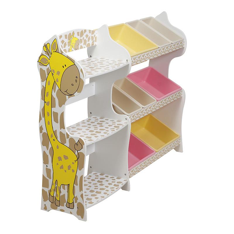 Lovely Children's Storage Cabinet Cartoon Design Multiple Pattern