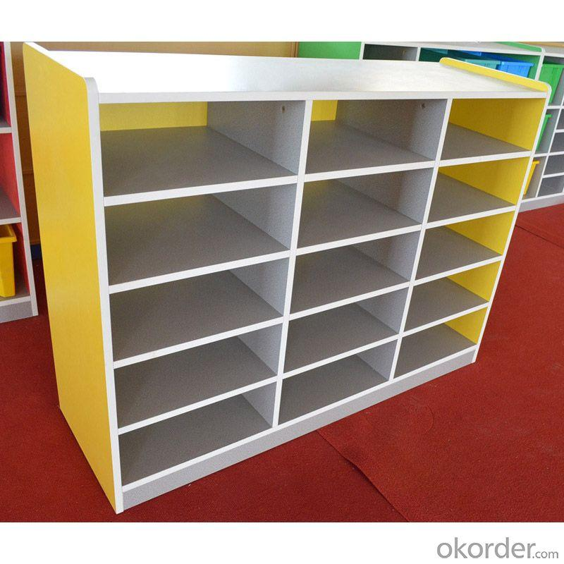 Kids' Toy Cabinet with Eco-friendly Material High Capacity