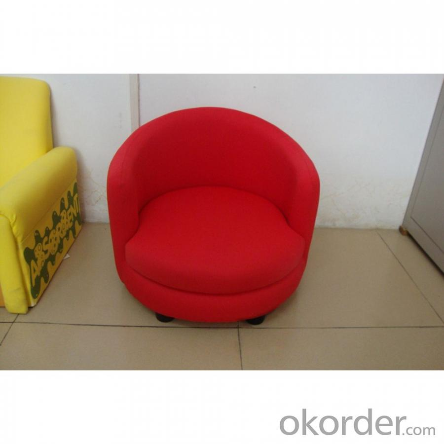 Red Fabric Children's Sofa Eco-friendly Material Customized Size