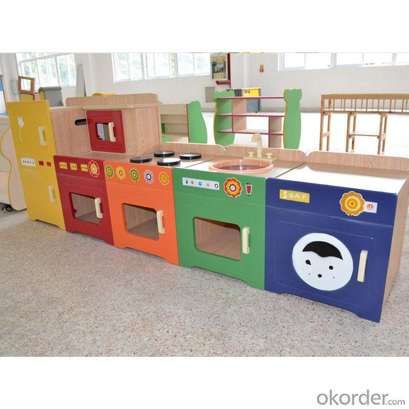 Children's Toy Storage Cabinet Stable Structure Non-toxic Material