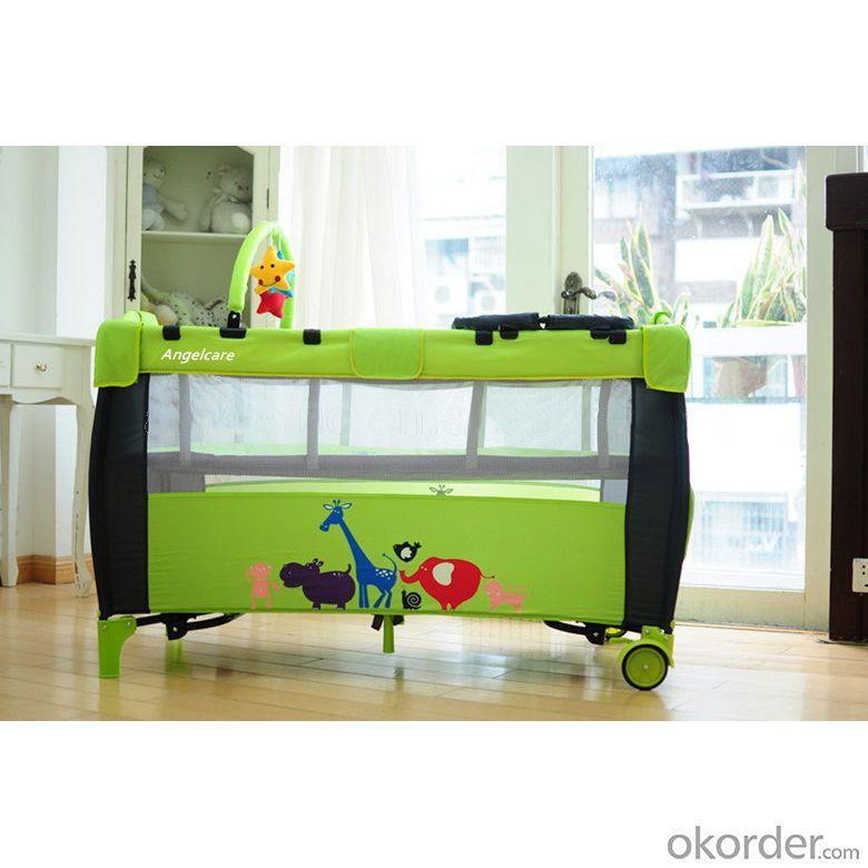 2 Wheels Baby Playpen