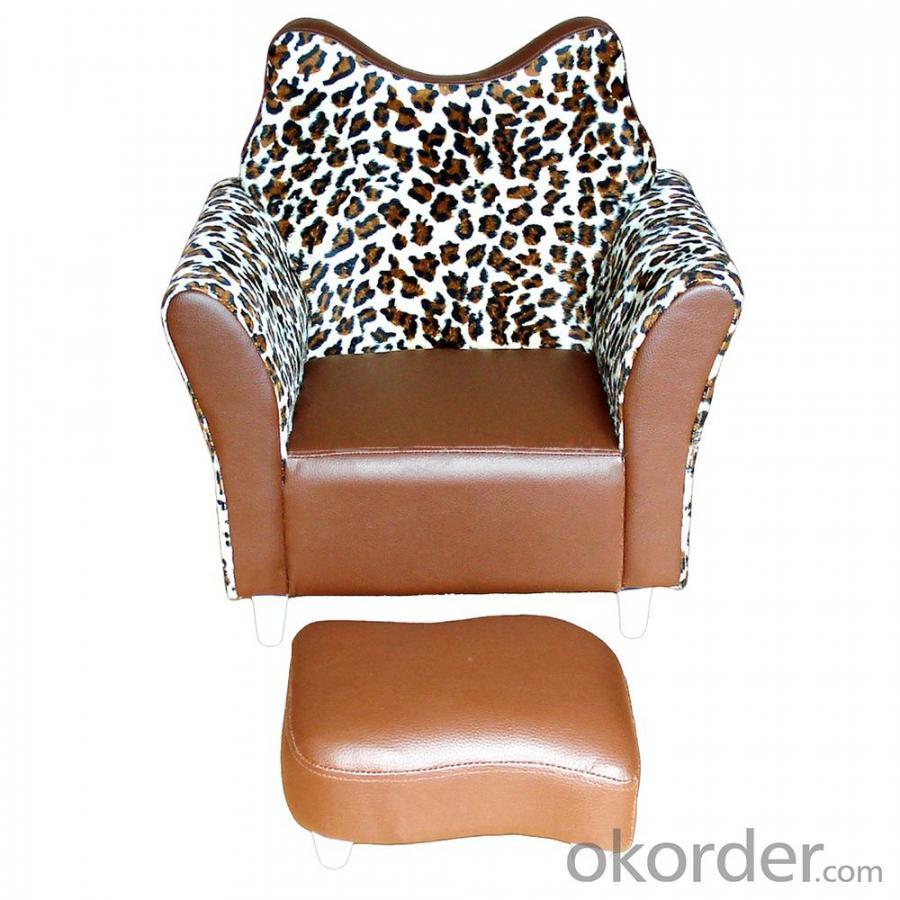 Kids' Sofa Zebra Strip Pattern Ergonomic Design Customized Size