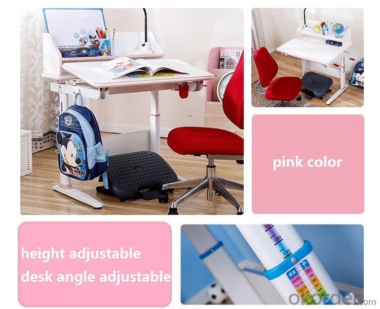 China Factory Supplier Children Study Desk, Angle Adjustable Children Table, Height Adjustable School Student Desk