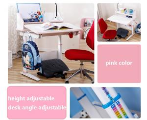 China Factory Supplier Children Study Desk, Angle Adjustable Children Table, Height Adjustable School Student Desk