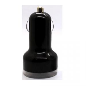 Car Charger for iPhones/Smart Phones/ipad/iTouch/MP3/MP4/E-Cigarette/Camera with Single USB Port with Black Luminous Cover