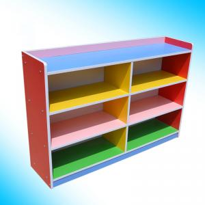 Colorful Kids' Storage Cabinet with Environmental Painting