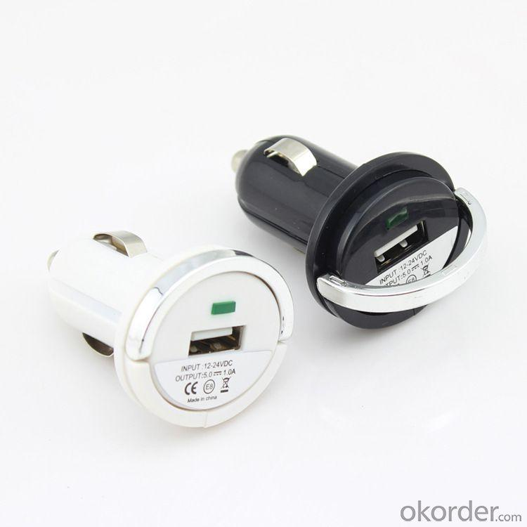 Car Charger for Smart Phones/ipad/iTouch/MP3/MP4/E-Cigarette/Camera with Dual USB Port 5V