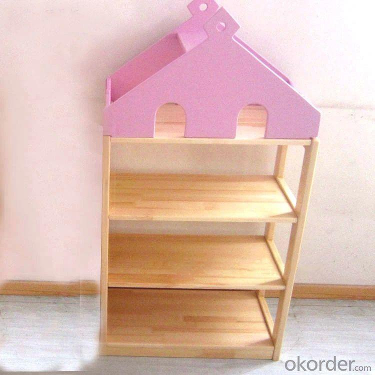 Stylish Children's Wooden Cabinet Non-toxic Material Durable