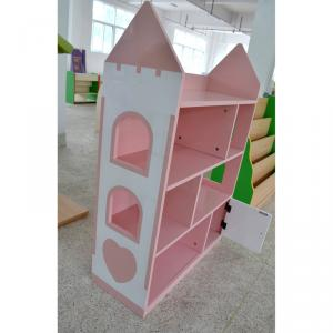 House Style Kids' Bookshelf Creative Design Non-toxic MDF Board