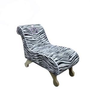 Kids' Sofa Zebra Strip Pattern Ergonomic Design Customized Size