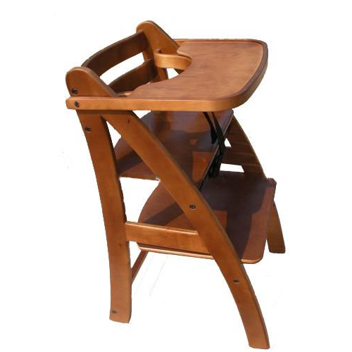 Baby's Eating Chair with Wood and Platic Material Available