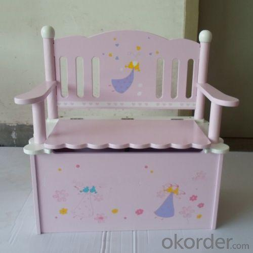 Children's Wooden Chair with Storage New Design Multiple Style